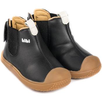 Pantofi Băieți Ghete Bibi Shoes Ghete Baieti Bibi Prewalker Black Negru
