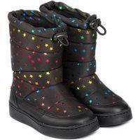 Pantofi Fete Cizme Bibi Shoes Cizme Fete Bibi Urban New Stars Black Negru