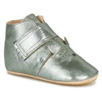 Pantofi Copii Papuci de casă Easy Peasy KINY CHAT MOU GRIS VERT MOU/PATIN