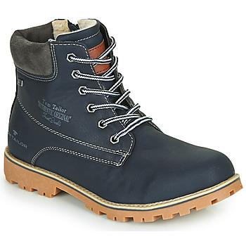 Pantofi Băieți Ghete Tom Tailor 70502-NAVY Albastru