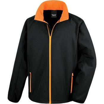 Îmbracaminte Bărbați Bluze îmbrăcăminte sport  Result Veste  Softshell Printable noir/noir