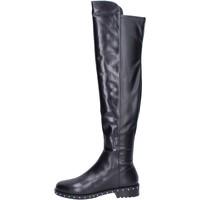 Pantofi Femei Cizme Elvio Zanon BK374 Negru