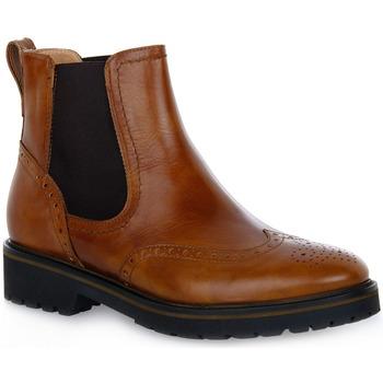 Pantofi Femei Botine NeroGiardini NERO GIARDINI  400 MANOLETTE CUOIO Marrone