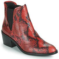 Pantofi Femei Ghete Fericelli NIAOW Negru / Roșu