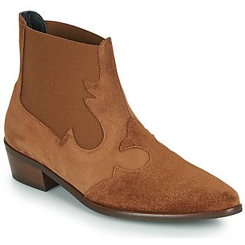 Pantofi Femei Ghete Fericelli NANTIAG Camel