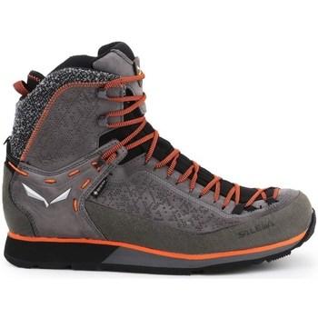 Pantofi Bărbați Drumetie și trekking Salewa MS Trainer 2 Winter Gtx Negre, Gri