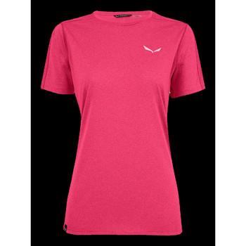 Îmbracaminte Femei Tricouri mânecă scurtă Salewa Pedroc 3 DRY W S/S TEE 27726-6385 pink