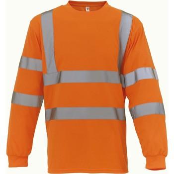 Îmbracaminte Tricouri cu mânecă lungă  Yoko T-Shirt manches longues  Haute Visibilité orange