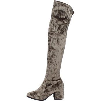 Pantofi Femei Cizme Accademia BK401 Verde