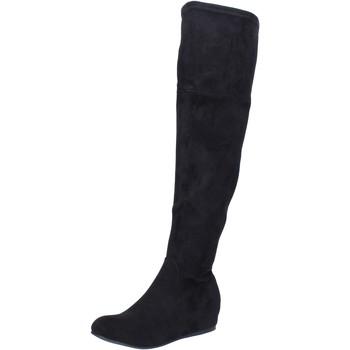 Pantofi Femei Cizme Francescomilano BK404 Negru