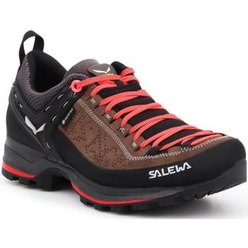 Pantofi Femei Drumetie și trekking Salewa WS MTN Trainer 2 GTX 61358-0480 black, brown