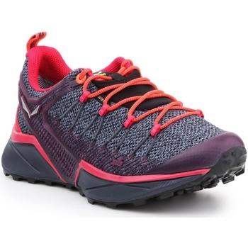 Pantofi Femei Drumetie și trekking Salewa WS Dropline GTX 61367-3853 purple, pink