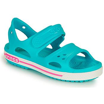 Pantofi Copii Sandale  Crocs CROCBAND II SANDAL PS Albastru / Roz