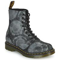 Pantofi Femei Ghete Dr Martens 1460 PASCAL Negru / Gri