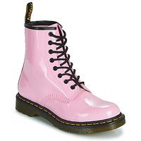Pantofi Femei Ghete Dr Martens 1460 W Roz