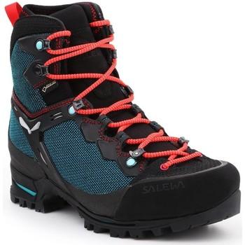 Pantofi Femei Drumetie și trekking Salewa WS Raven 3 GTX 61344-8736 green, black, red