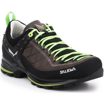 Pantofi Bărbați Drumetie și trekking Salewa MS MTN Trainer 2 L 61357-0471 brown, black, green