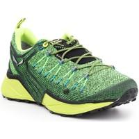 Pantofi Bărbați Drumetie și trekking Salewa MS Dropline GTX 61366-0953 green, yellow, black