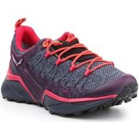 Pantofi Femei Trail și running Salewa WS Dropline Gtx Gri, Portocalie, Violete