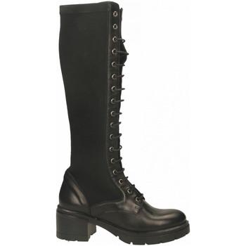 Pantofi Femei Cizme casual Tosca Blu LISBONA c99-nero