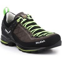 Pantofi Bărbați Fitness și Training Salewa MS Mtn Trainer 2 L Negre, Cafenii