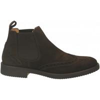 Pantofi Bărbați Ghete Antica Cuoieria VELOUR testa-di-moro