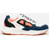 Pantofi Femei Pantofi sport Casual Asfvlt Baskets Femme  Concrete blanc/bleu/corail