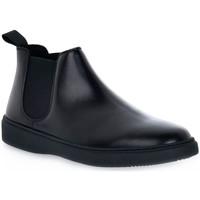 Pantofi Bărbați Ghete Frau PONCHO NERO Nero