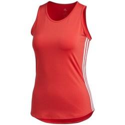 Îmbracaminte Femei Maiouri și Tricouri fără mânecă adidas Originals Wmns 3STRIPES Tank Top Roșii