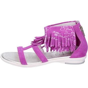 Pantofi Fete Sandale  1A Classe Alviero Martini Sandali Camoscio Viola