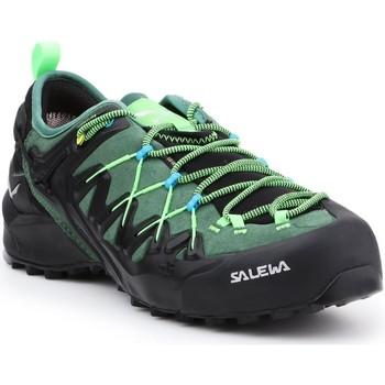 Pantofi Bărbați Drumetie și trekking Salewa MS Wildfire Edge GTX 61375-5949 black, green