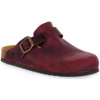 Pantofi Saboti Bioline 1900 VINO INGRASSATO Rosso