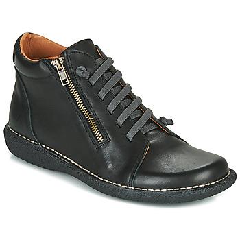 Pantofi Femei Ghete Casual Attitude NELIO Negru