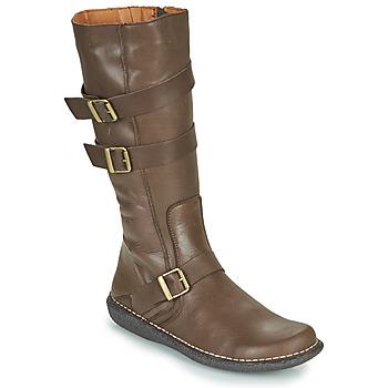 Pantofi Femei Cizme casual Casual Attitude NIBOOT Maro