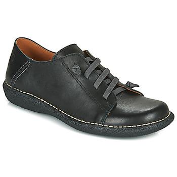 Pantofi Femei Pantofi Derby Casual Attitude NIPITE Negru
