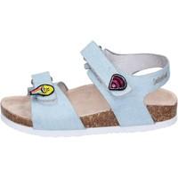 Pantofi Fete Sandale  Smiley Sandali Tessuto Blu