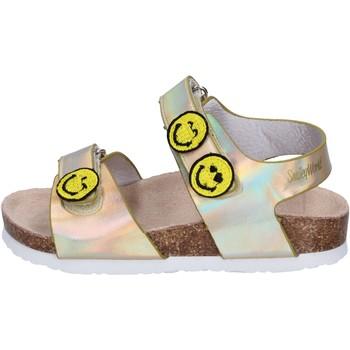 Pantofi Fete Sandale  Smiley Sandali Pelle sintetica Oro