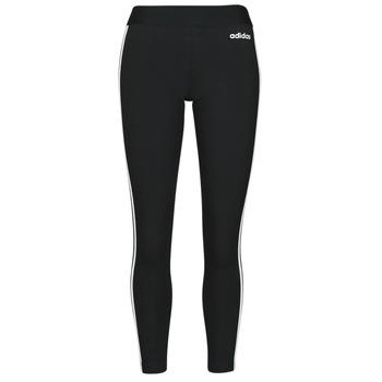 Îmbracaminte Femei Colanti adidas Originals W E 3S TIGHT Negru / Alb