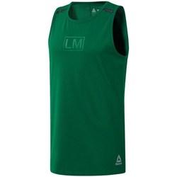 Îmbracaminte Bărbați Maiouri și Tricouri fără mânecă Reebok Sport Les Mills Performance Verde