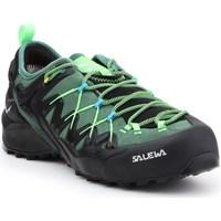 Pantofi Bărbați Drumetie și trekking Salewa MS Wildfire Edge Gtx Negre, Verde