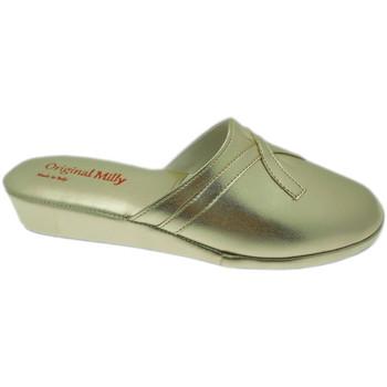 Pantofi Femei Saboti Milly MILLY2200oro blu