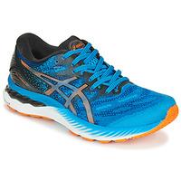 Pantofi Bărbați Trail și running Asics NIMBUS 23 Albastru / Multicolor