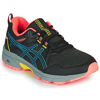 Pantofi Femei Trail și running Asics VENTURE 8 Negru / Albastru