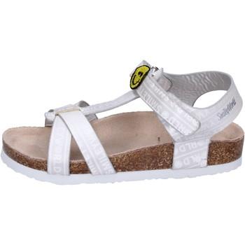 Pantofi Fete Sandale  Smiley Sandali Pelle sintetica Argento