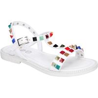 Pantofi Fete Sandale  Joli BK530 Alb