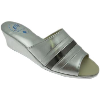 Pantofi Femei Papuci de vară Milly MILLY1706arg grigio