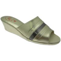 Pantofi Femei Papuci de vară Milly MILLY1706pla grigio