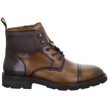 Pantofi Bărbați Ghete Salamander Modena Tan Brown Brown