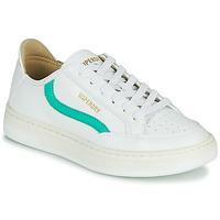 Pantofi Femei Pantofi sport Casual Superdry BASKET LUX LOW TRAINER Alb