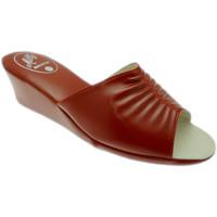 Pantofi Femei Papuci de vară Milly MILLY1805ros rosso